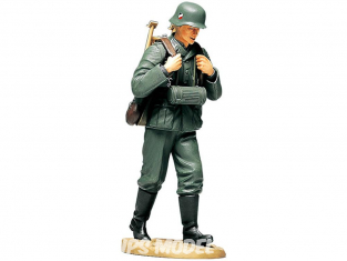 Tamiya maquette militaire 36311 Servant de mitrailleuse Allemand WWII 1/16