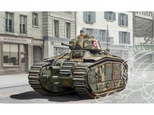 Italeri maquette militaire 15766 CHAR B1 BIS 1/56 28mm