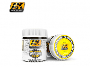 Ak interactive AK617 Base platre pour weathering 100ml