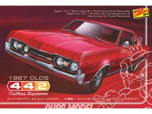 LINDBERG maquette voiture HL127 1967 Oldsmobile 442 1/25
