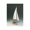 Corel bateaux bois SM53 5,5 Monotype classe internationale 1/25