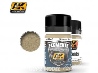 Ak interactive Pigments AK140 Sol Sienne 35ml