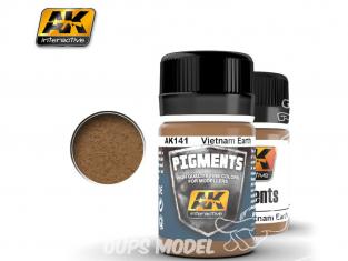 Ak interactive Pigments AK141 Terre Vietnam 35ml