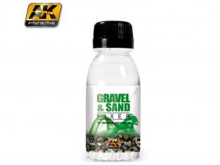 Ak interactive peinture acrylique AK118 Colle gravier et sable 100ml