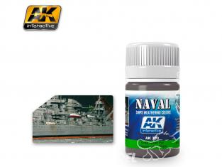 Ak interactive Peinture Enamel AK303 Lavis pour Navires de la Kriegsmarine 35ml