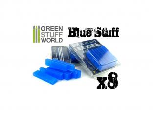 Green Stuff 365159 Plastique Blue Stuff 8 barres