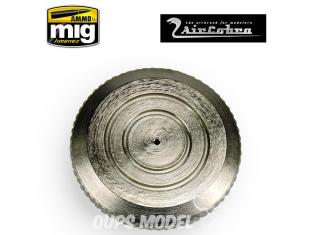 MIG pièce aérographe 8653 Couvercle de godet en métal