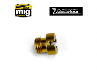 MIG pièce aérographe 8638 Boulon de valve d'air