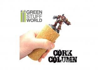 Green Stuff 364336 Colonne en liège pour fixer armatures