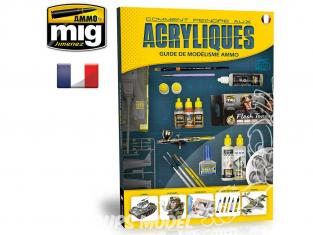 MIG Librairie 6042 Guide : Comment peindre aux acryliques en Français