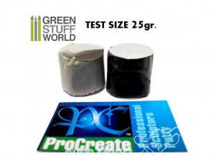 Green Stuff 365210 Pâte ProCreate 25 gr Format d'essai