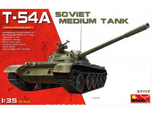 Mini Art maquette militaire 37017 Char sovietique T-54A 1/35