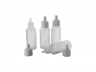 ModelCraft POl1017 Flacons compte-gouttes (17ml) x 4