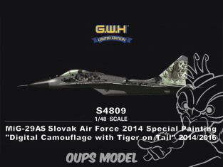 Great Wall Hobby maquette avion S4809 MiG-29AS Slovak Air Force 2014 Special Painting 1/48