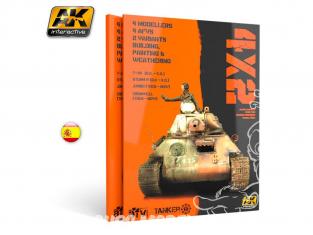 Ak interactive livre AK4802 4x2 en Espagnol