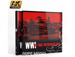 Ak interactive livre AK273 WWI La première Guerre mécanisée En Anglais
