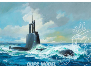 Revell maquette sous marin 05153 CLASS 214 1/144