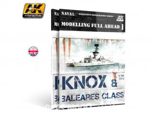 Ak interactive livre AK098 Modelling Full AHEAD 1 Classe Know & Baleares en Anglais