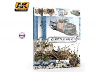 Ak Interactive livre AK503 Extreme 2 Véhicules viellis - Weathered vehicles / Réalité en Anglais