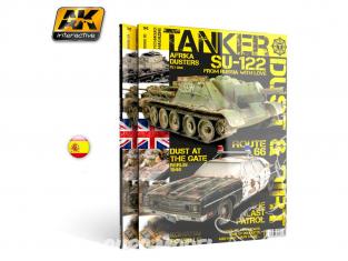 Ak interactive Magazine Tanker AK4818 N°3 Poussière et Saleté en Espagnol