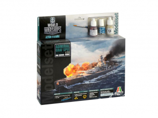 Italeri maquette avion modelset 74003 ADMIRAL GRAF SPEE World of Warships 1/720