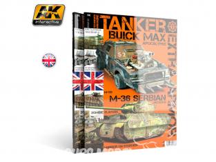 Ak interactive Magazine Tanker AK4812 N°2 Blindage Extra en Anglais