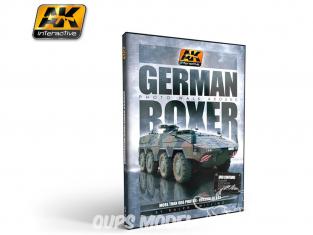 Ak interactive Dvd AK095 Dvd GTR Boxer par Raphael Zwilling (PAL)