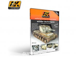 Ak interactive Dvd AK035 Dvd techniques de Vieillissement - Techniques hivernales en Anglais par Mig Jimenez (PAL)