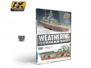 Ak interactive Dvd AK651 Dvd Vieillissement de navires Allemands (NTSC)