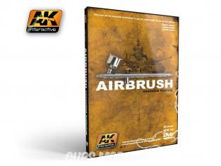Ak interactive Dvd AK653 Dvd Aérographe - Entrainement essentiel (NTSC)