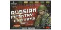 Lifecolor set de peintures cs42 Couleur Uniforme infanterie russe WWII