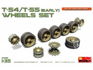 Mini Art maquette accessoires militaire 37056 Set de roues pour char T-54, T-55 (EARLY) 1/35