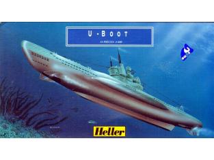 Heller maquette bateau 81002 U-Boot 1.400