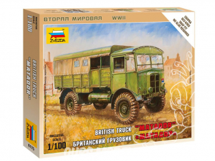 AEC Matador tracteur d'artillerie Zvezda maquette militaire 6175 1/100