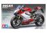 Ducati 1199 Panigale Tricolore Tamiya maquette moto 14132 1/12