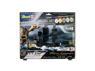 Model Set Black Pearl REVELL maquette 65499 1/150