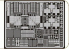 Eduard photodecoupe 32191 F6F-5N Hellcat Gun Bay 1/32