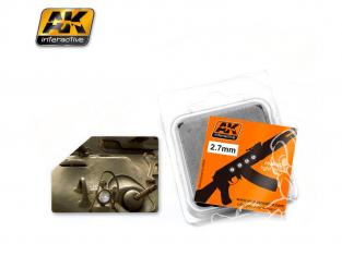 AK interactive ak237 Lentilles blanches 2,7mm