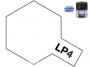 Peinture laque couleur Tamiya LP-4 Blanc mat 10ml
