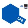 Peinture laque couleur Tamiya LP-6 Bleu pur brillant 10ml
