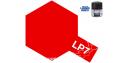 Peinture laque couleur Tamiya LP-7 Rouge pur brillant 10ml