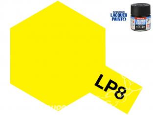 Peinture laque couleur Tamiya LP-8 Jaune pur brillant 10ml