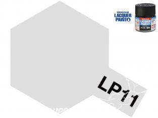 Peinture laque couleur Tamiya LP-11 Argent brillant 10ml