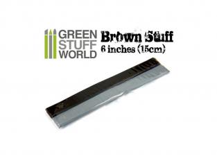Green Stuff 367269 Résine Brune en bande 15 cm 6 pouce