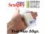 Green Stuff 368389 Sculpey Original 55 gr. Taille d'essai