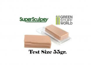 Green Stuff 365098 Super Sculpey Beige 55 gr. Taille d'essai
