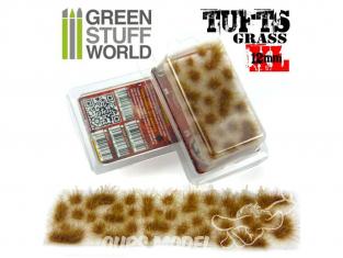 Green Stuff 368815 Touffes d'herbe XL 12mm Auto-Adhésif BRUN SEC