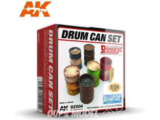 Ak Interactive Doozy DZ004 Set de bidons 1/24