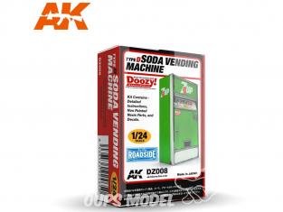 Ak Interactive Doozy DZ008 Distributeur de Soda Type D 1/24