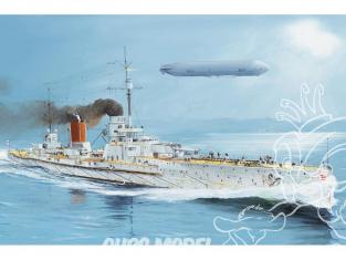 """Croiseur de bataille """"Sedlitz"""" de l'Empire allemand 1/350 Hobby Boss maquettes bateau 86510"""